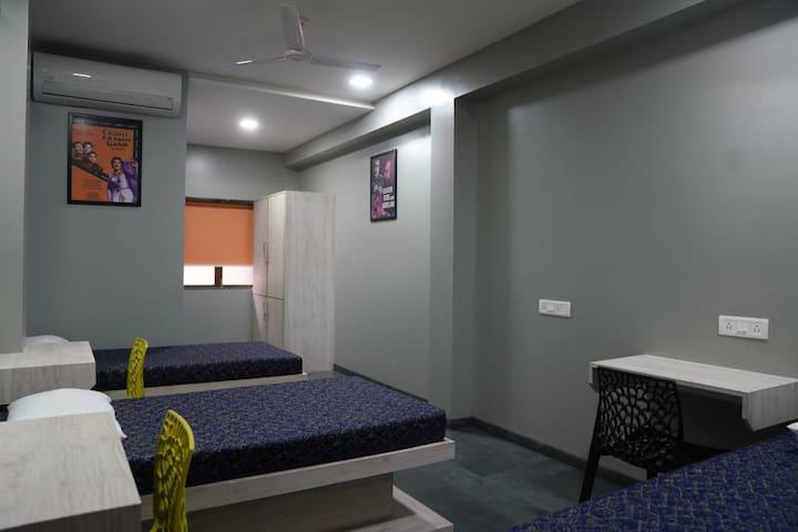 Bedroom w/ Study Table