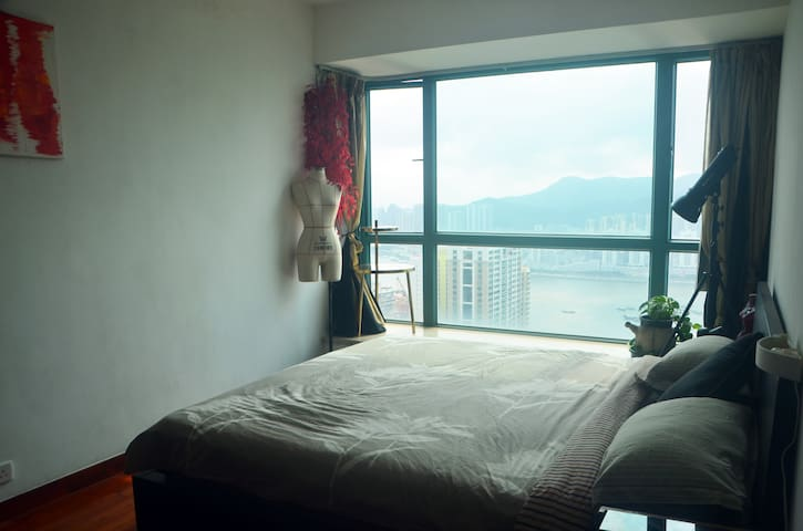 Sea view Master Room with private Bath - Wifi - Macau - Appartement