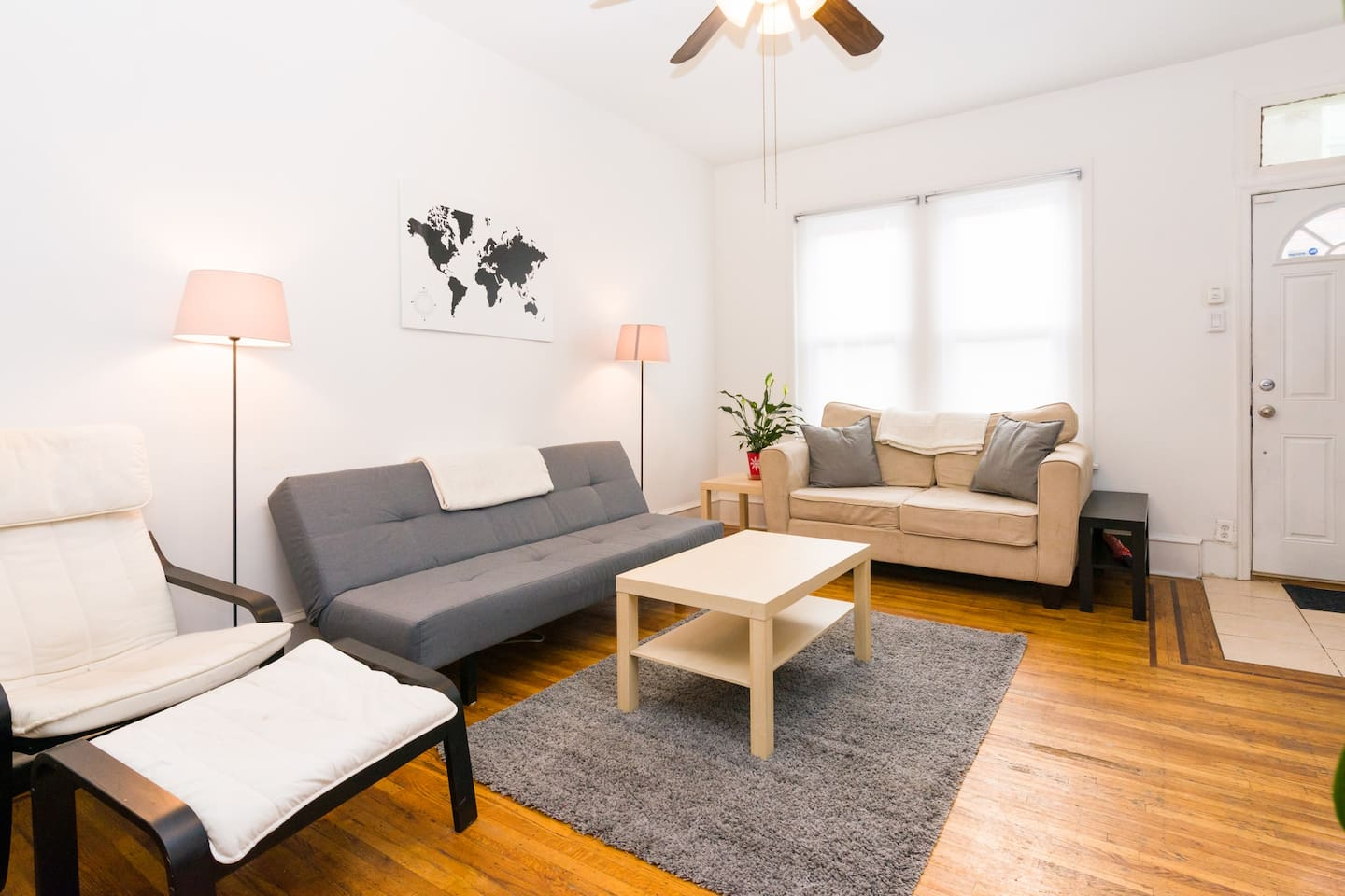 Full/private home by cheesesteaks in hip S. Philly