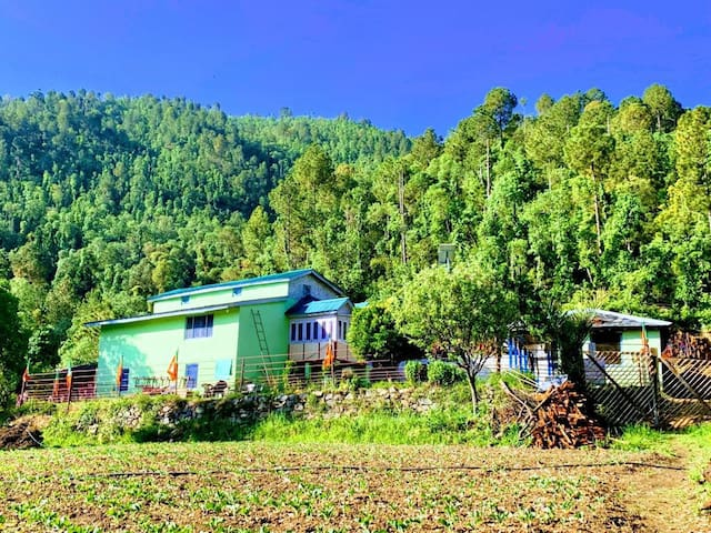 My Farm House in wildlife sanctuary