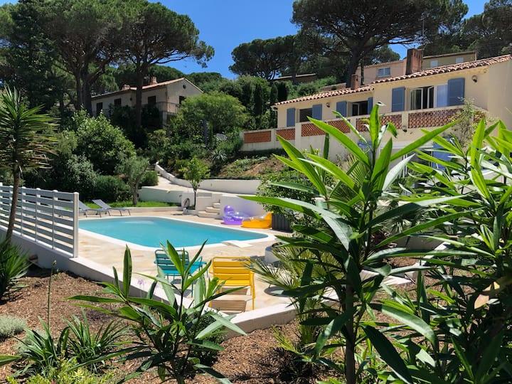 Villa avec piscine à Ste Maxime