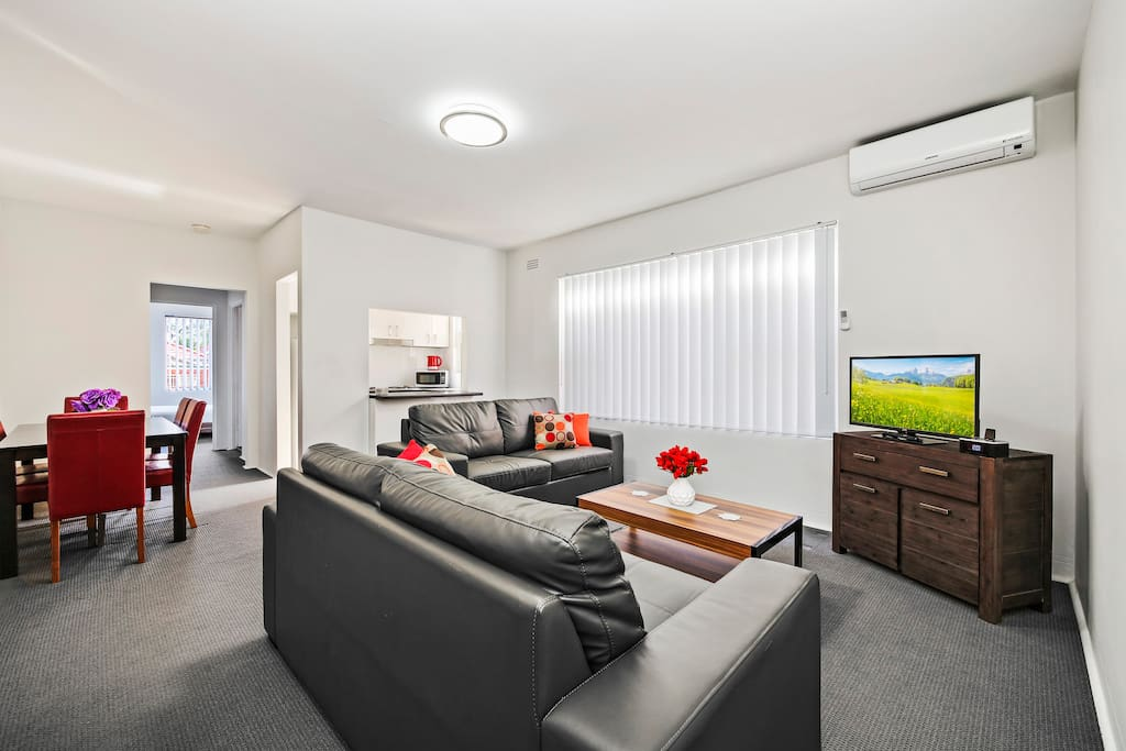 Comfortable Living Areas