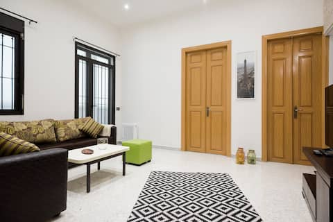 Calm and central Beirut apartment in Mar Mikhayel