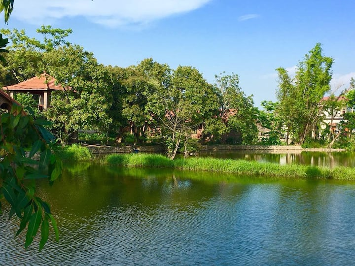 Dinh Gia Home -  Deluxe Bungalow with lake view