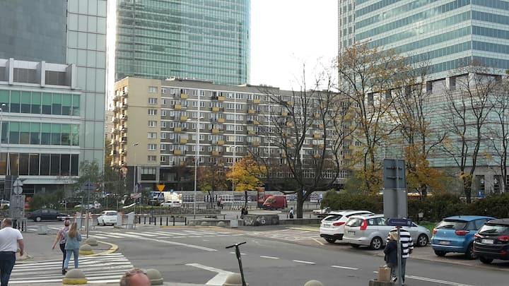 Centrum Warszawy przy Pałacu Kultury,Muzeum Szt