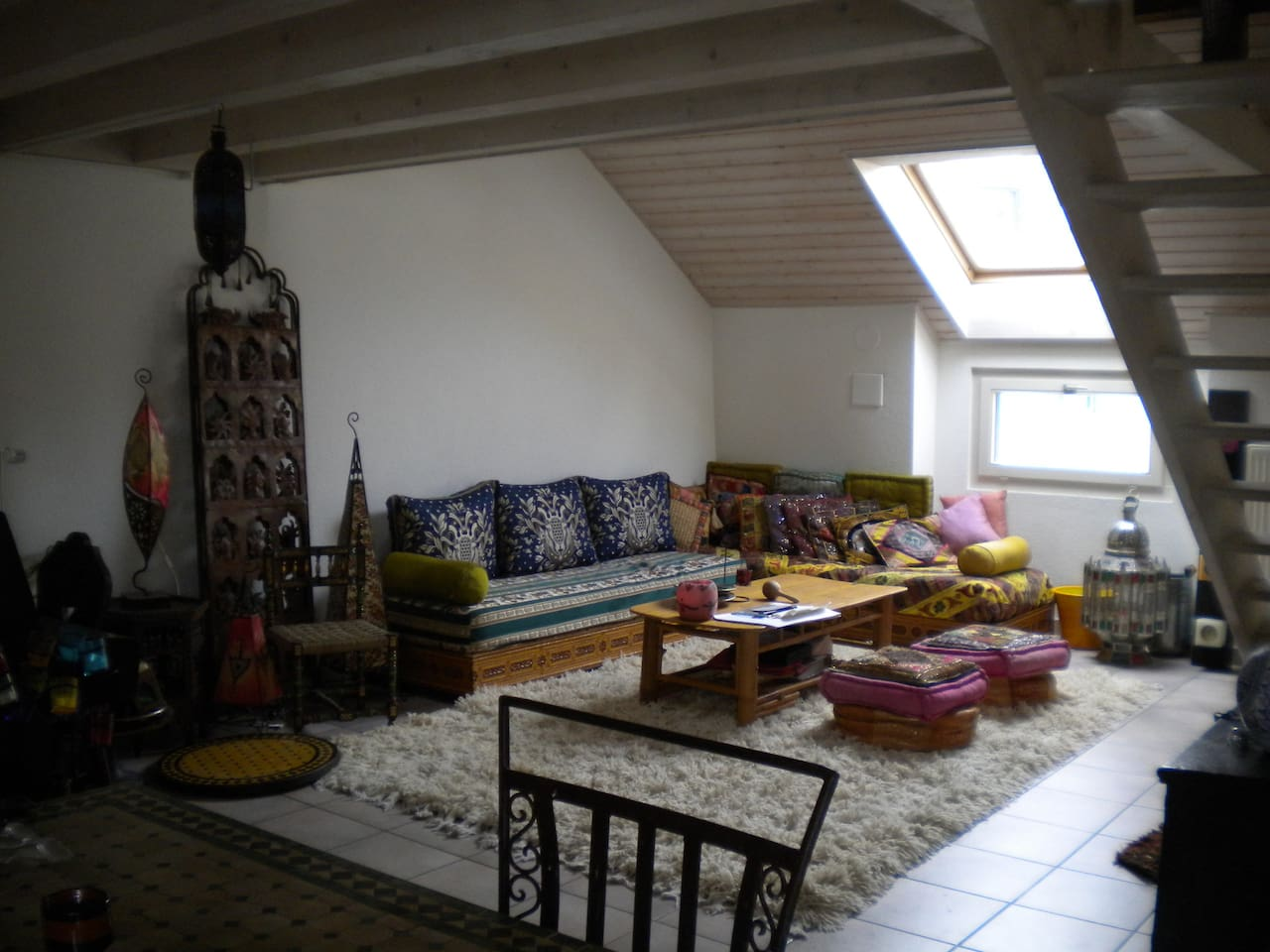 <nice and bright living room where you can relax and feel at home