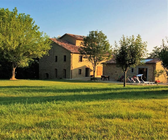 Casalino di Sopra, between Tuscany and Romagna - Tredozio - Hostel