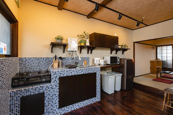 Traditional Japanese style★with 2bathrooms☆TA13