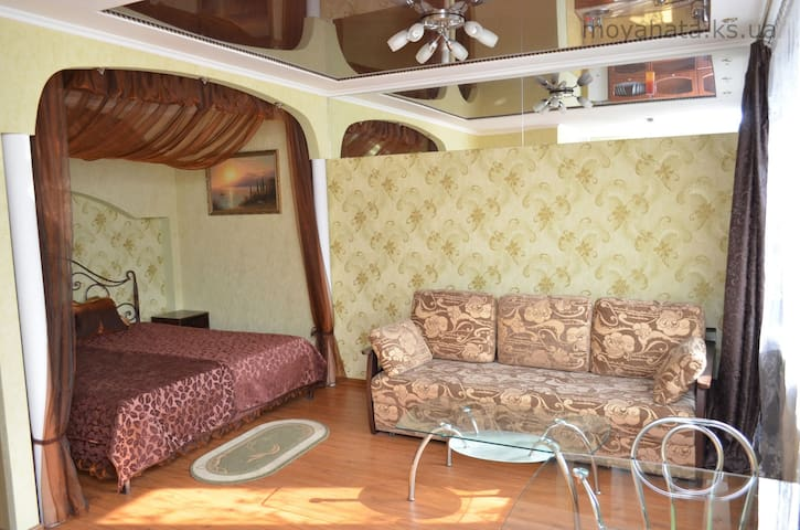 Very nice studio apartment (center) - Kherson - Appartement