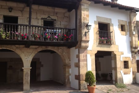 / Cottage garden-25 euros / person / -  CANTABRIA(Renedo de Cabuerniga)