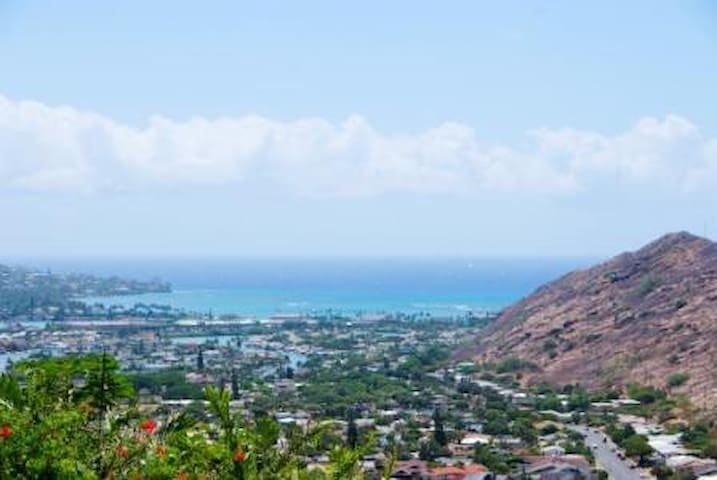 Ocean and Mountain View Cottage! - Honolulu - Villa