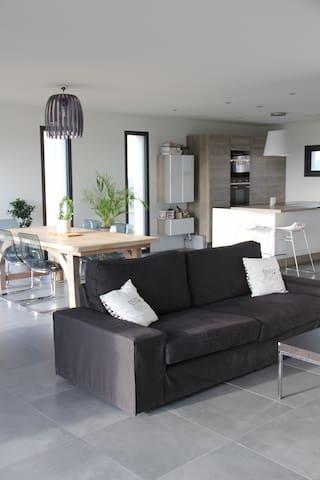 Maison d'architecte moderne design - Melesse