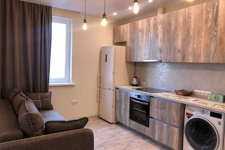 New apartment, Vladivostok. Amazing view! 5 guests