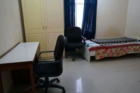 Attractive silent furnished room