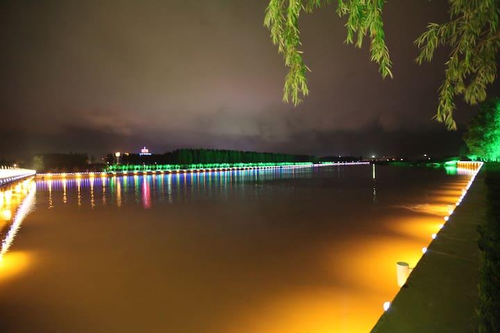 距海600米大学校园内,免费停车场、免费儿童游乐园 - Qinhuangdao - Huoneisto