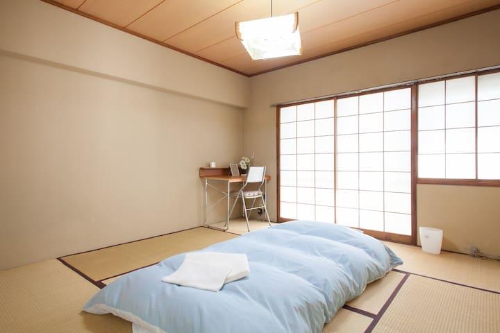 Cozy Japanese room in Shibuya