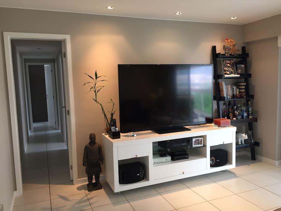 Rack, Estante e TV