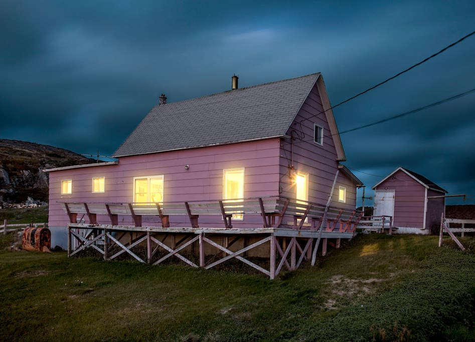 """Photo of the """"Pink House"""" by guest and photographer Graham Kennedy 2013"""