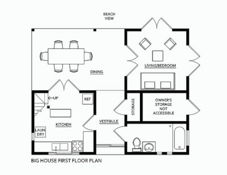 Main House First Floor Plan