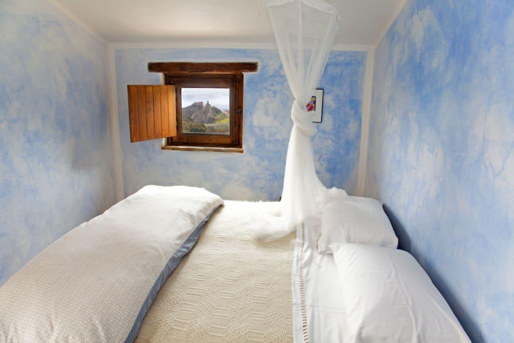La camera matrimoniale più piccola
