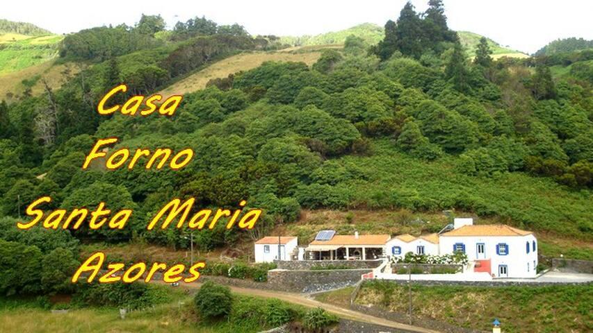 Casa Forno auf Santa Maria Azoren