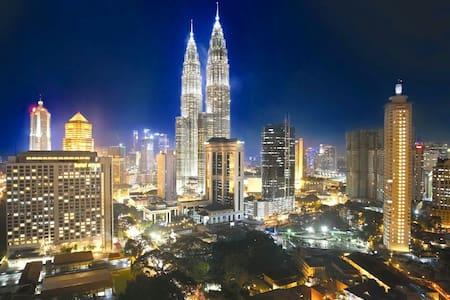 10# Cosy Apt 2mins KLCC + FREE WiFi - Kuala Lumpur  - Apartment