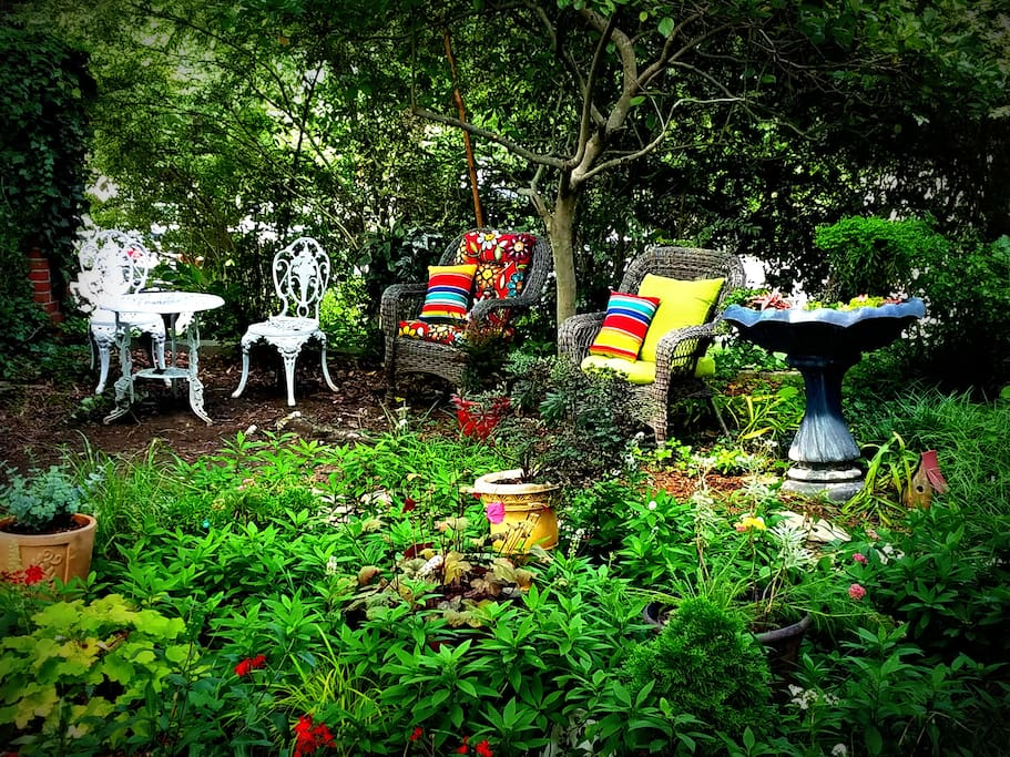 Some of the garden seating