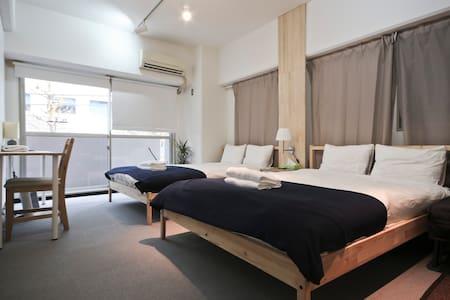 12ppl 2 rooms 2 bath@Ginza/Tsukiji - Minato-ku