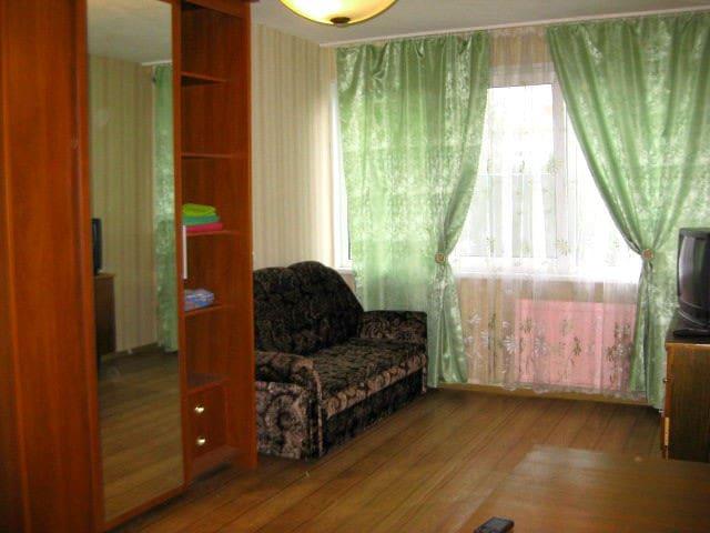 уютная квартира на пр Ветеранов - São Petesburgo - Apartamento