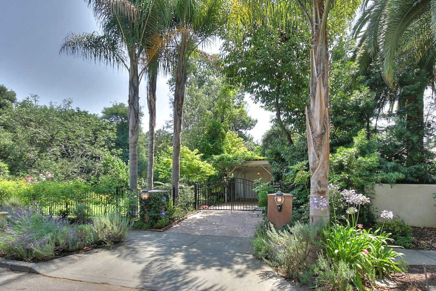 Welcome to our home, a secluded oasis 8 blocks from Downtown Palo Alto!