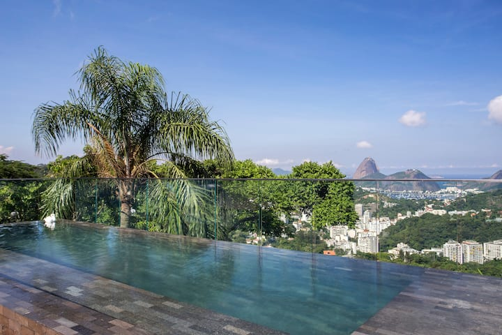 Casa Marques Santa Teresa - Best view of Rio!