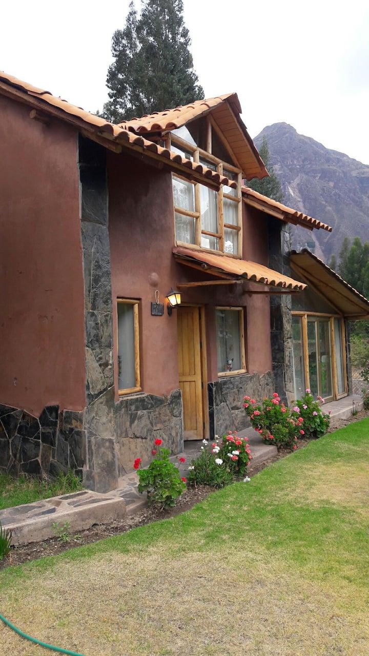 Casa de campo (cabaña) en el Valle Sagrado (Lamay)