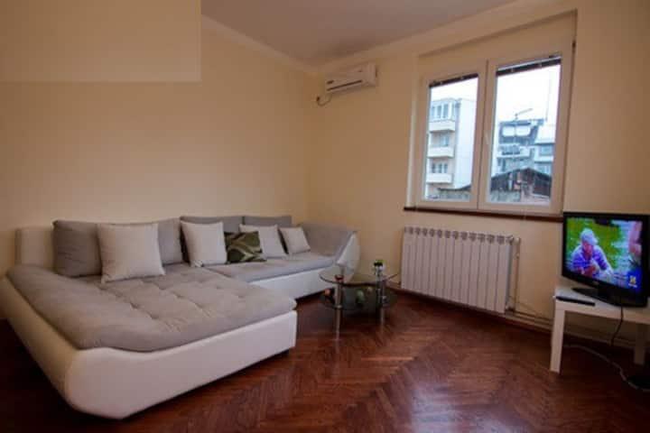 Apartment 62m2 in the center of Belgrade, Serbia