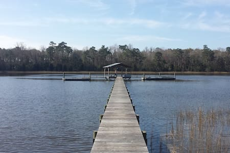 Waterfront Property with Private Dock - House