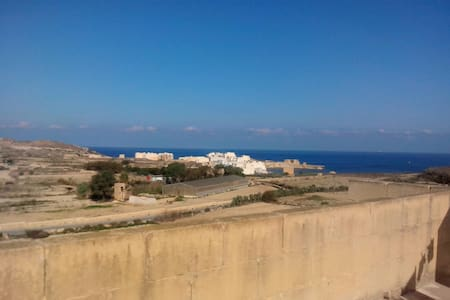 One room in Gozo with Morning YOGA
