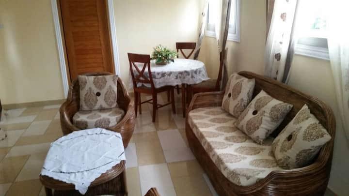 Appartement meublé 2 chambres climatisées AKWA