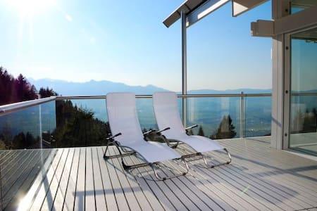 Amazing View over Rhine Valley - Batschuns - Rumah