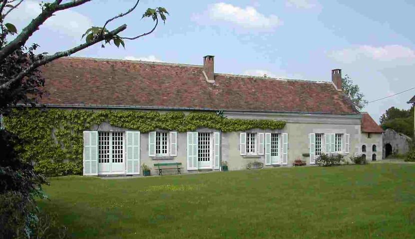 Touraine belle longère, piscine - Marray - Rumah