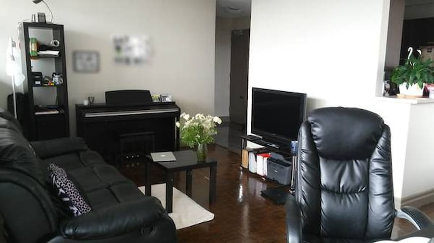 Spacious Apartment 2 mins walk to UWaterloo - Waterloo - Apartamento