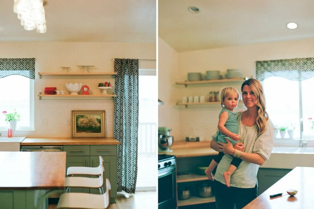 My kitchen was featured on a few design blogs in 2012.