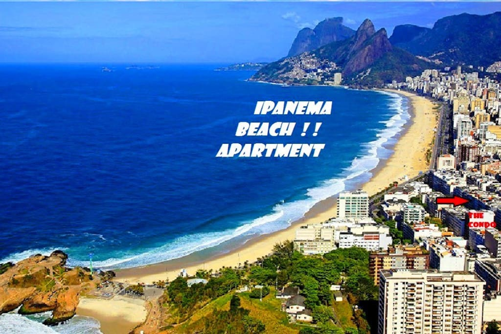 FEW STEPS FROM THE WARM SANDS OF IPANEMA BEACH