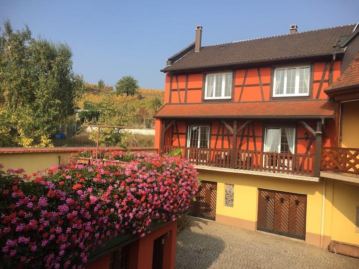 Route des vins d'Alsace Gîte*** 3 Clévacances