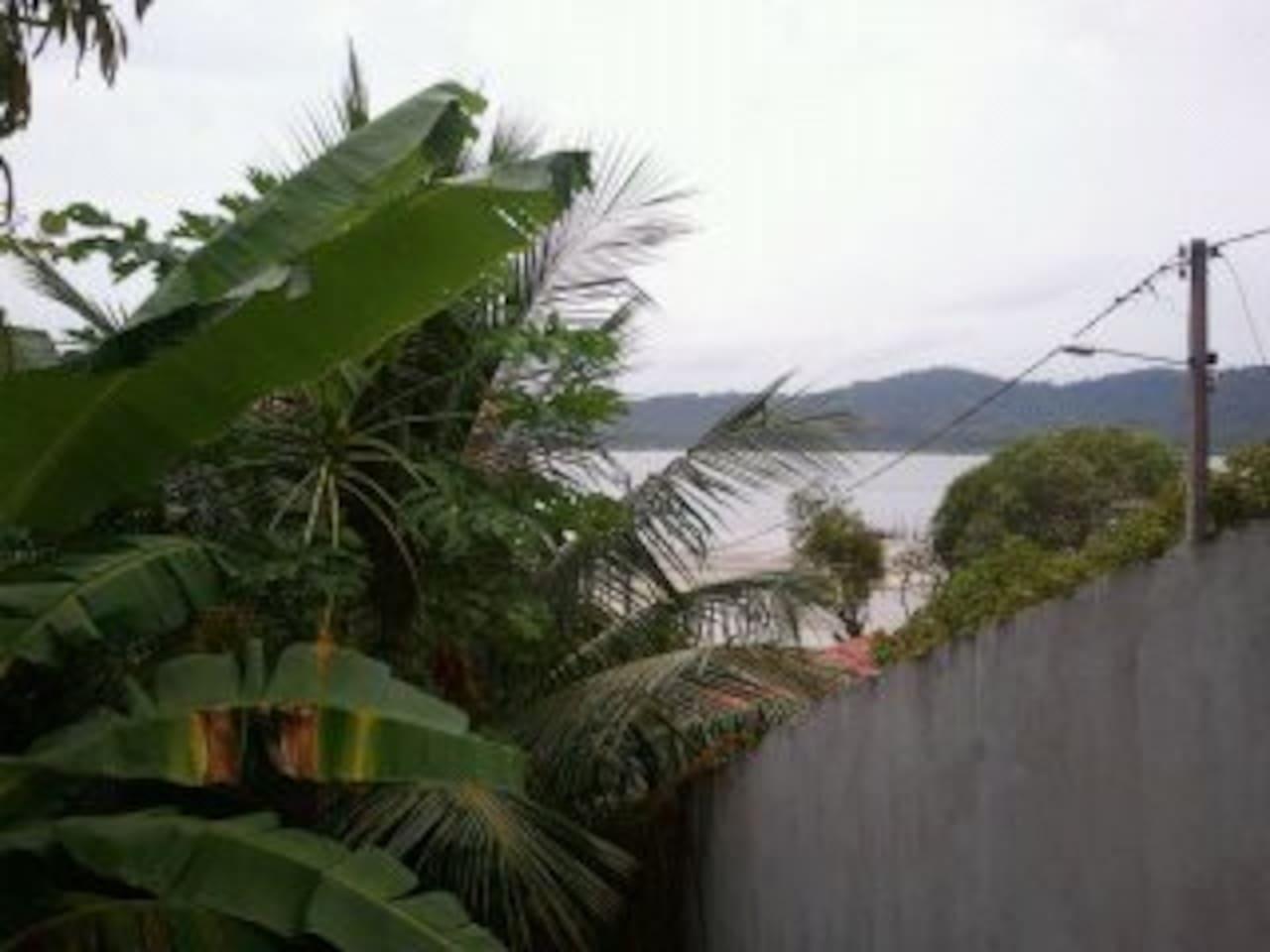 Vista mar - janela da sala