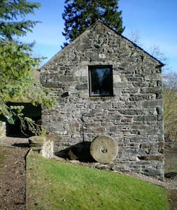 Gorgeous converted mill with loch views - Lawers - Hus