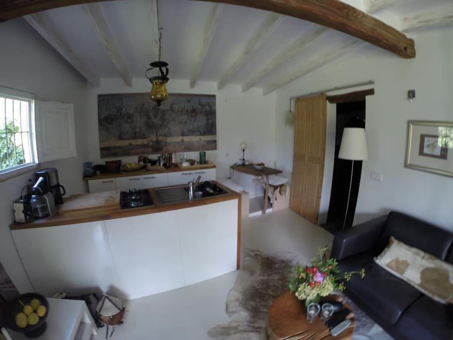 Wohnraum/ Küche