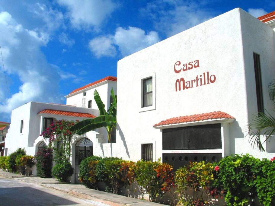 Casa Martillo Street Entrance Calle 19 Sur