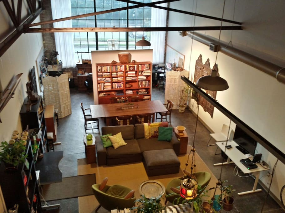 Converted Industrial Loft Apartment Lofts For Rent In