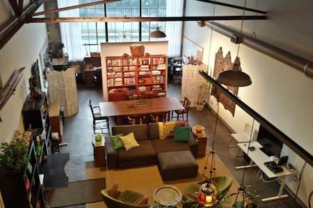 Converted Industrial Loft Apartment - Atlanta - Loft