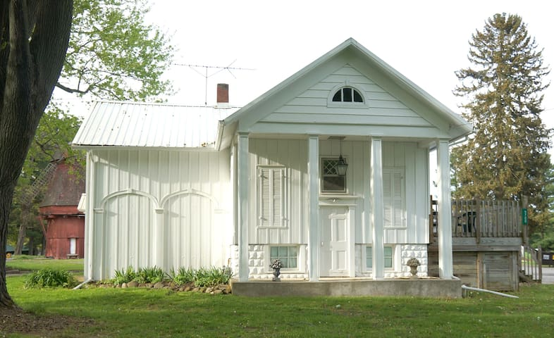 Stay In An Old Railroad Station!