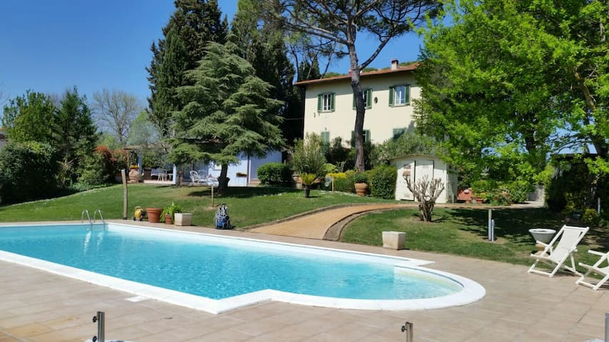 RELAIS VILLA AL VENTO - Figline e Incisa Valdarno - Villa